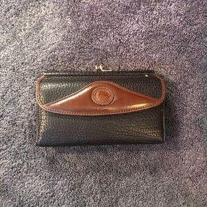 Handbags - Vintage dooney&bourke trifold wallet